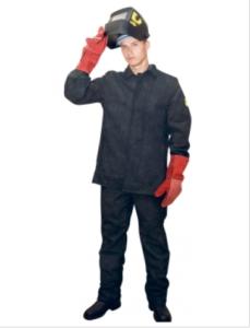 костюм сварщика спилковый